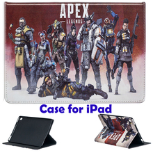 Tablet Case for Apple ipad 2 3 4 air air 2 ipad 9.7 2017 2018 Pro 9.7 iPad mini 4 mini 3 Apex Legends Print stand coque capa