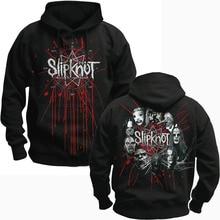 Bloodhoof SLIPKNOT ทางเลือกโลหะสีดำ pullover Hoodie ขนาดเอเชีย