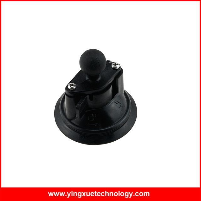 Suction Cup Mount Diamond Base with 1 inch Rubber Ball