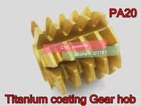 1 pièces M0.5/M0.6/M0.8/M1.0/M2.0/M3.0M/M4.0 module PA 20 degrés HSS revêtement titane engrenage table de cuisson outils de coupe livraison gratuite