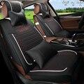 Cubiertas de asiento de coche de Asiento de Coche de cuero Cubre Utilizados En Cuatro Estaciones de Automóviles Accesorios conjunto completo delantero asientos asientos traseros