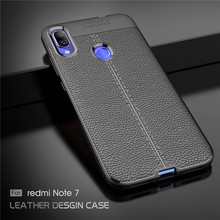 Xiaomi Redmi Note 7 Case Luxury Soft Silicone Rubber Phone For Back Cover Fundas ^