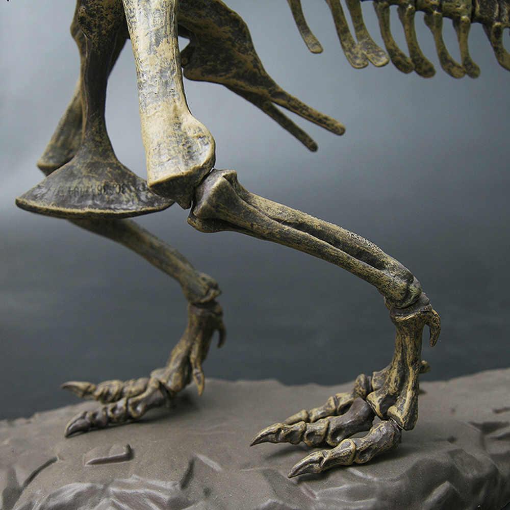 4D Modello Animale Giocattoli di Simulazione di Grandi Dimensioni Fossile di Dinosauro Tyrannosaurus Assemblare il modello di scheletro Giocattoli Decorazione Della Casa