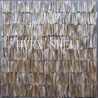 Wholesale 3D mother of pearl tile shell mosaics stiffened backsplash tile kitchen bathroom wall designs ideas fireplace tile