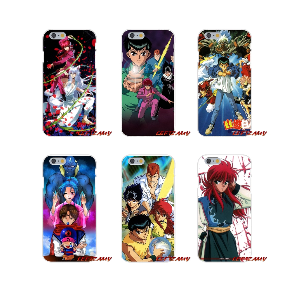 For Huawei P Smart Plus Mate Honor 7a 7c 8c 8x 9 P10 P20 Lite Pro Yu Yu Hakusho Accessories Phone Shell Covers Phone Bags & Cases Half-wrapped Case