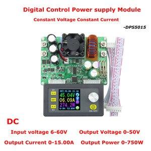 Image 5 - DPS5015 LCD الفولتميتر 50 فولت 15A جهاز قياس الجهد الكهربائي الحالي تنحى برمجة وحدة امدادات الطاقة منظم محول 41% off