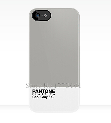 Pantone Plastica Gray 6 C Case for iPhone 4 4S 5 5S 5C 6 6S Plus Samsung Galaxy S3 S4 S5 Mini S6 S7 Edge Plus A3 A5 A7 J5 J7