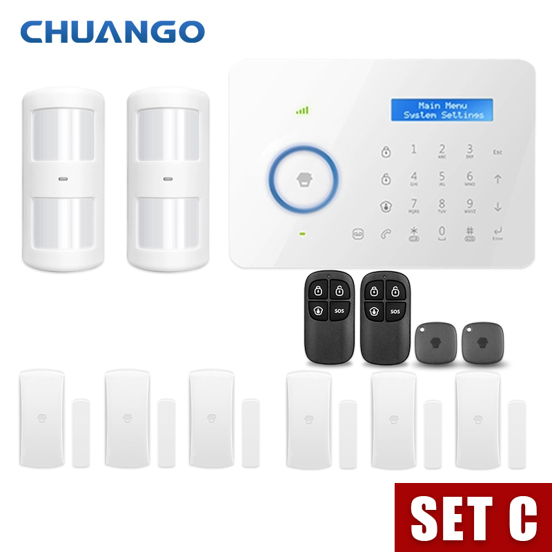 Chuango B11 Wireless door sensor Home Security GSM Alarm systems 315mhz in Alarm System Kits from Security Protection