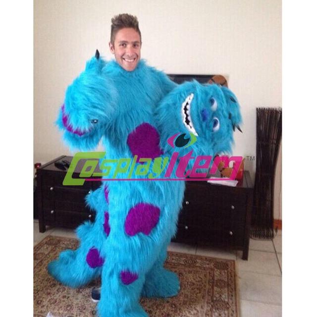 7b56860f6ab4 Custom Made Monsters Inc Sully Mascot Costume Monsters Inc Sully Cosplay  Costume