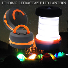 Outdoor Led Tent Camping Lamp Flashlight Retractable LED Lantern For Hiking Emergencies Lighting Folding Torch Camping light D25 multifunction retractable outdoor camping lights led flashlight portable lantern mini tent light emergency lamp torch light