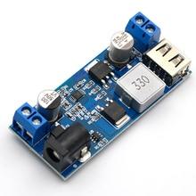 DC-DC 24 В/12 В до 5 В 5A понижающий преобразователь питания Замена LM2596S Регулируемый USB понижающий зарядный модуль для телефона