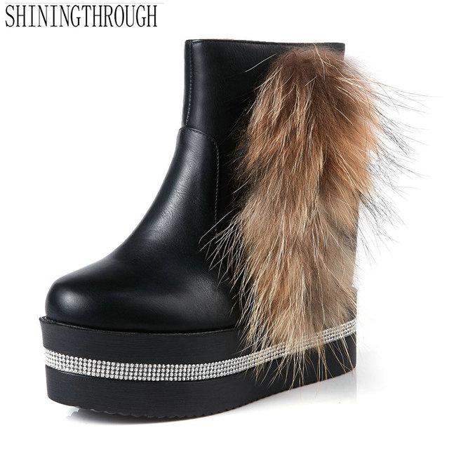 f6aee415234f4c NEUE frauen stiefeletten sexy stil frauen stiefel high heels stiefel frau  plateauschuhe frau schwarz weiß