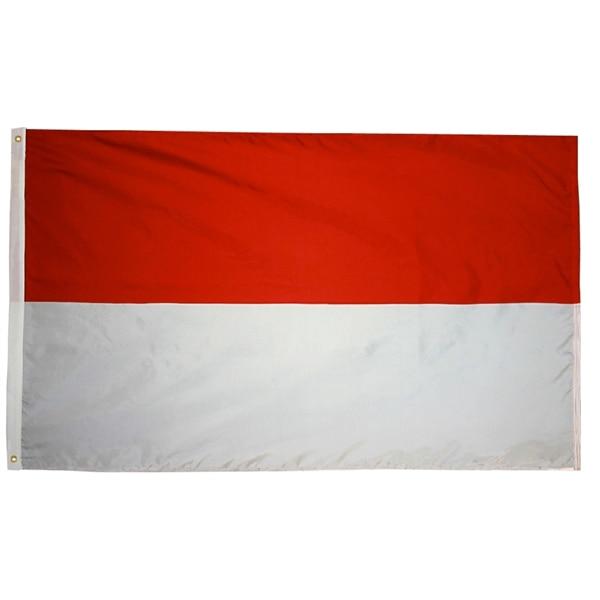 Johnin 90*150cm Hesse Mc Mco Monaco ID IDN Indonesia Flag For Decoration