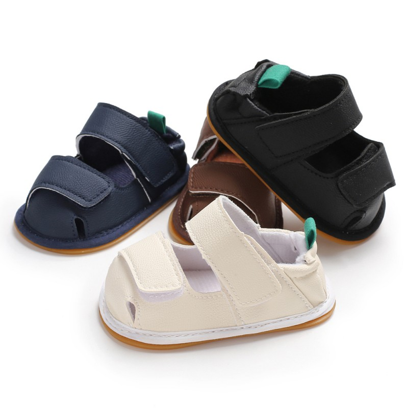 High Quality Summer New Fashion Baby Casual Soft Bottom Breathable Sandals Boys Shoes Newborn Sandals 0-18M
