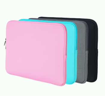 Portable Fashion New Laptop Bag Zipper Soft Sleeve 10 11 12 13 14 15 inch Case for MacBook Air pro Ultrabook Notebook tablet