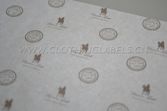 Custom tissue papers wrapping white background with brown logo custom tissue papers wrapping white background with brown logo printing gift wrapping paper sciox Choice Image