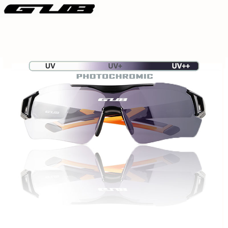 GUB 5600 Cycling Photochromic Glasses Automatic Discoloration Bike Eyeglasses Outdoor Sports Sunglasses For Men Or Wome