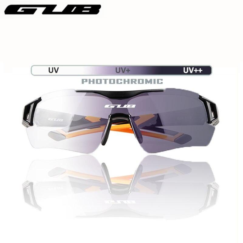 GUB 5600 ciclismo gafas fotocrómicas decoloración automática bicicleta gafas de sol deportes al aire libre para hombres o Wome