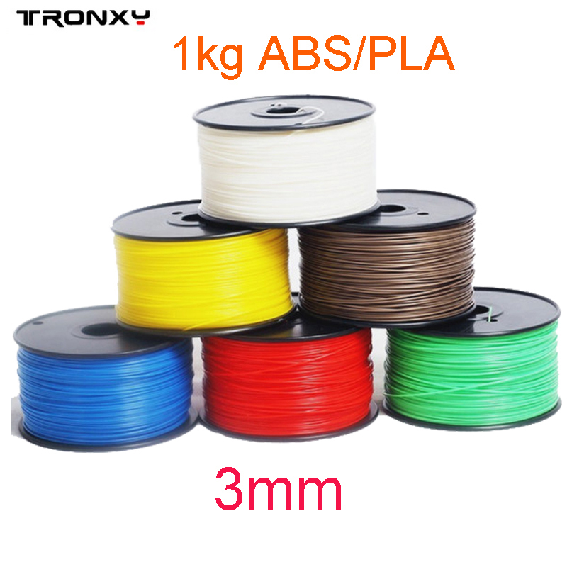 DIY 3D Printing Material 3mm PLA/ABS Colorful 3D Printer
