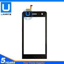 Black Touch Screen For Archos 45 Helium 4G Digitizer Panel Front Glass Replacement 1PC/Lot
