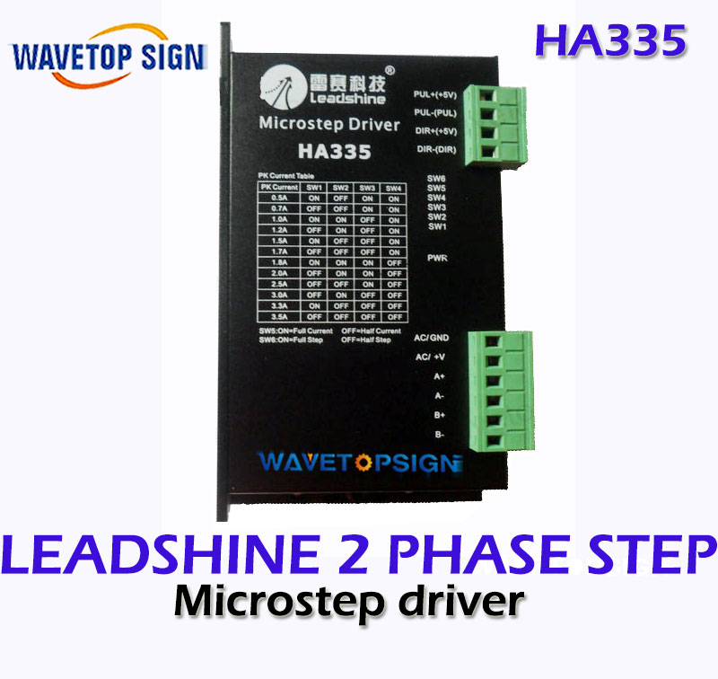 Leadshine stepper driver HA335  2 phase stepper motor drives 30VDC 3.5A   Stepping Driver leadshine am882 stepper drive stepping motor driver 80v 8 2a with sensorless detection