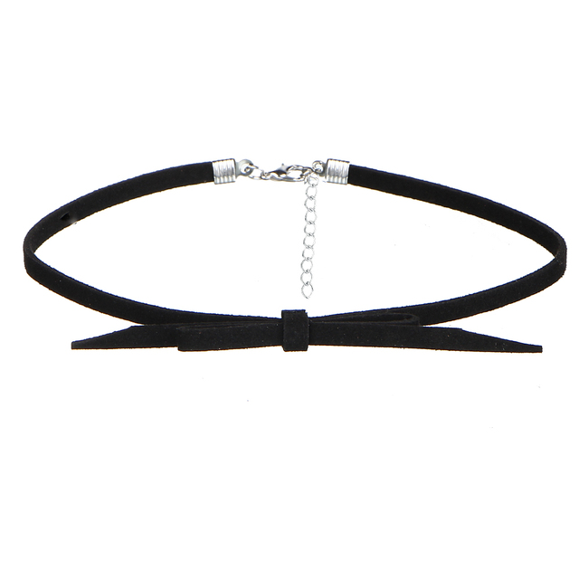 17KM 8 PCS/Set PU Leather Choker Necklaces Set for Women Steampunk Collar Lace Necklace Jewelry Gothic Tattoo Collier Femme