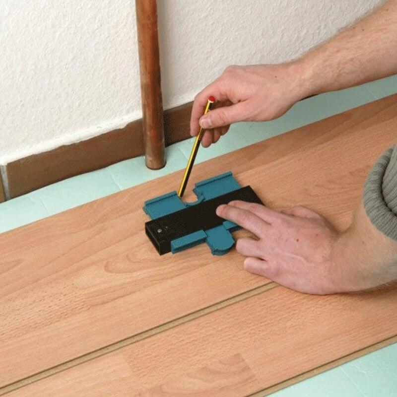 De plástico de contorno perfil copia de duplicador estándar de 5 ancho madera marcado herramienta mosaico de azulejos General herramientas
