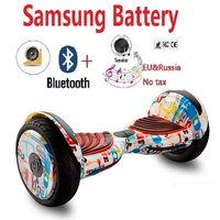 10 Hoverboard Samsung battery Electric scooter patinete electrico overboard Adult electric skateboard hover board
