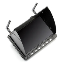 New Arrival Skyzone HD02 40CH 5 8G 7 Inch 1024x600 HD FPV Monitor With Without DVR