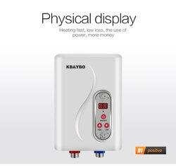 7000 W Elektrische Wasser Heatin Instant Elektrische Durchlauferhitzer Durchlauferhitzer Instant schnelle 3 sekunden heiße dusche