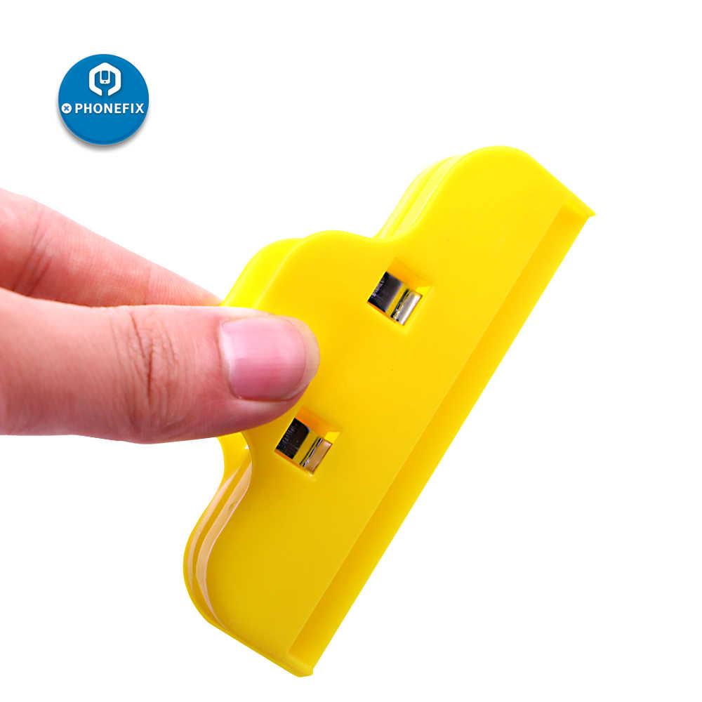 Phonefix 2 個ユニバーサルプラスチック携帯電話の修理 iphone ipad led スクリーン固定固定修復ツール