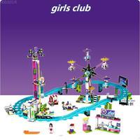 Lepin 01008 Model Building Kits Compatible City Girls Friend Amusement Park 3D Blocks Educational Model Building