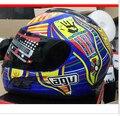 Новое прибытие Высокого качества Валентино Росси мотоциклетный шлем MotoGp гонки анфас шлем capacete motociclistas cascos moto