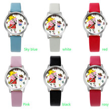 Ot03 Новинка 2017 года стиль милый поросенок Дизайн Животные серии часы простой мультфильм Часы с Японии Movt Multicolors