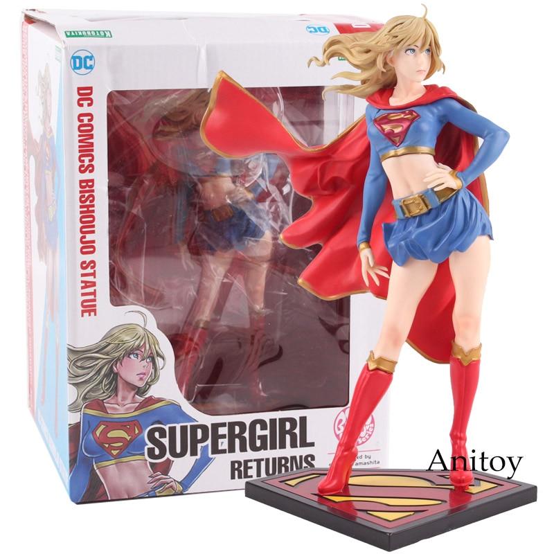DC COMICS Bishoujo Statue Supergirl Returns PVC Figure Collectible Model ToyDC COMICS Bishoujo Statue Supergirl Returns PVC Figure Collectible Model Toy