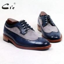 cie round toe full brogues medallion custom bespoke leather men shoe handmade men s casual 100