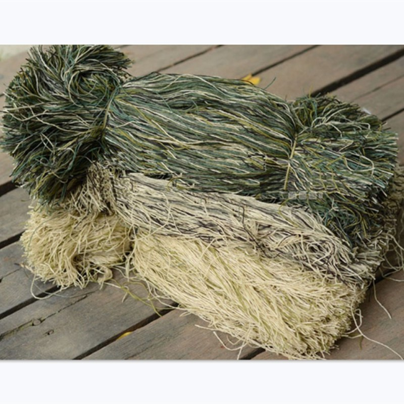 Yarns Camouflage DIY Decorate Ghillie Suit Outdoor CS Field Hunting Shooting Paintball <font><b>Jungle</b></font> Desert Combat Tactical Kit 1 Bag image