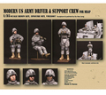 Resin Kits   1/35 Scale Modern US Army Driver Support Crew Resin Kits Free Shipping 3 pcs/1 set