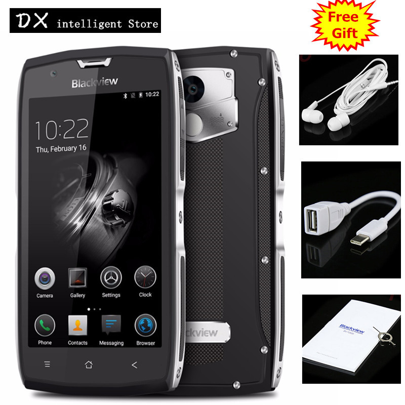 In Stock Blackview BV7000 Pro IP68 Waterproof 4GB 64GB Mobile Cell Phone 5 0 FHD 4G