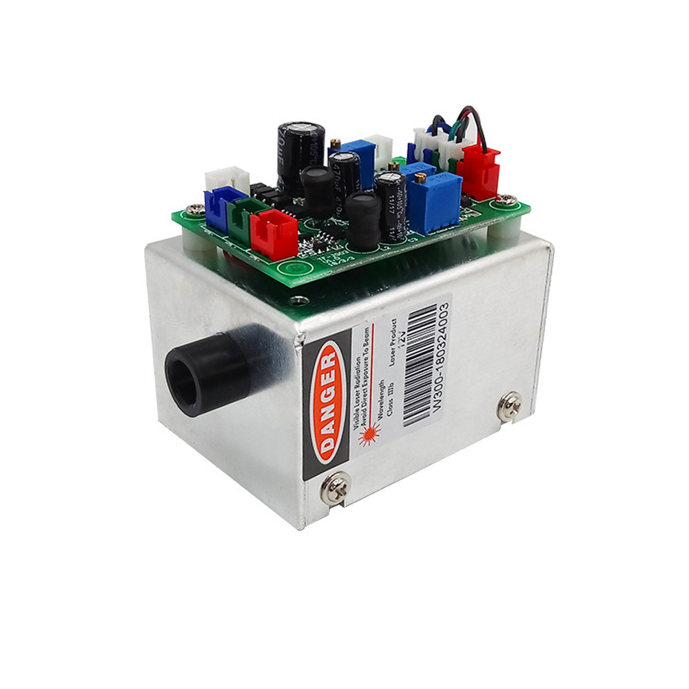Update White Laser Module RGB 300mW 638nm+520nm+450nm With TTL Driver Board Modulation Temperature Protection Precision Science image