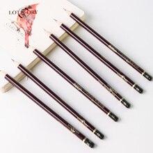 12PCS LOTORY Drawing Pencil Sketch Soft Carbon Pencil Sketch Pencil 2H 2B 4B 8B 12B 14B