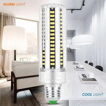 E27 LED Bulb 220V E14 Aluminum Led Lamp SMD 5736 High Lumen Corn Light 110V Home Lampada 5W 7W 9W 12W 15W 20W 25W No Flicker