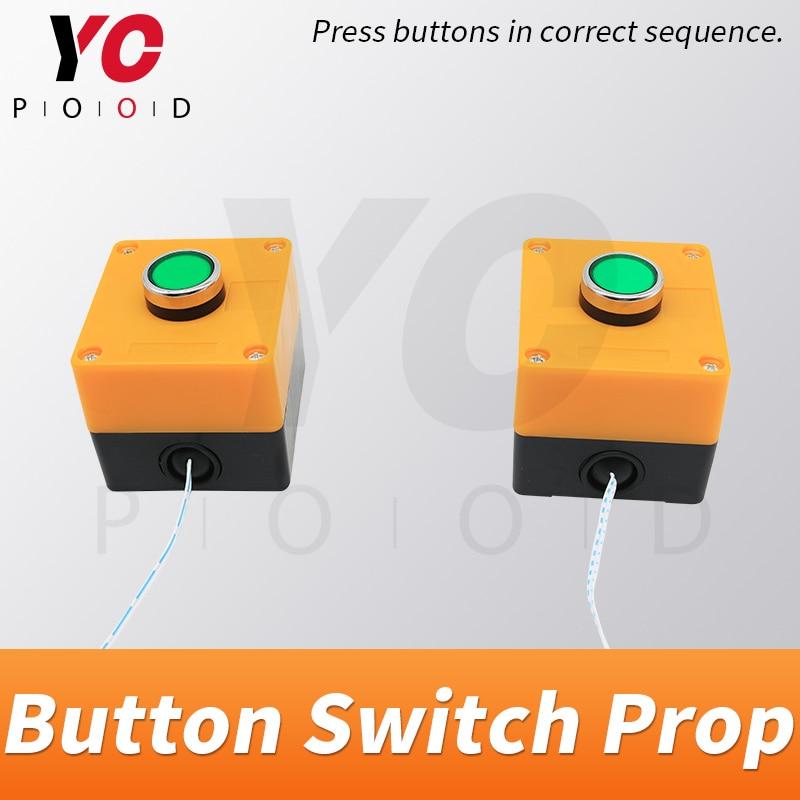 Bouton commutateurs vraie vie évasion pièce accessoire appuyez sur mot de passe correct pour déverrouiller console commutateur jeu fournisseur YOPOOD