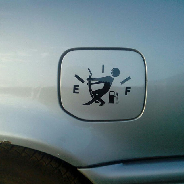 Funny High Gas Consumption Sticker