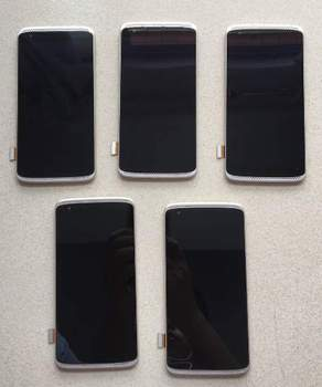 5,2 дюйма AMOLED ЖК-дисплей и сенсорная панель для zte AXON MINI B2016 Дисплей с Сенсорный экран digiziter