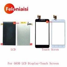 Продажа Высокое Качество 5,0 »для huawei Ascend G630 ЖК-дисплей Дисплей с Сенсорный экран планшета Сенсор Панель + код отслеживания