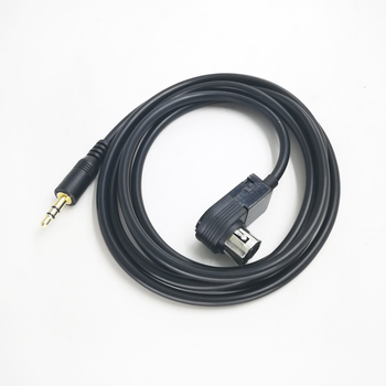Biurlink-Adaptador de Cable auxiliar, conector de 3,5mm para JVC Alpine CD KS-U58...