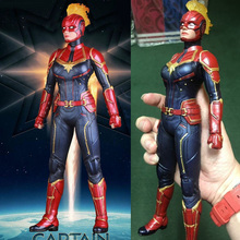 Marvel Avengers Endgame Collectible Model Toy Super Hero Captain Marvel Statue PVC Action Figures saintgi iron man avengers generation action figures hot toys super hero collection model toy gift pa change play arts marvel