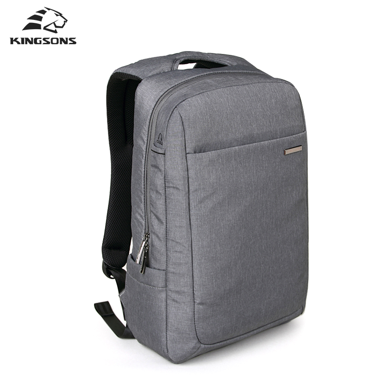 Kingsons 15.6 Inch Air Bag Shockproof Waterproof Laptop Backpack Large Space Knapsack Men Women Computer Notebook Packsack kingsons brand waterproof men women laptop backpack 15 6 inch notebook computer bag korean style school backpacks for boys girl