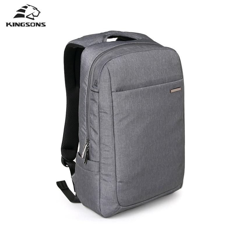 Kingsons 15.6 Inch Air Bag Shockproof Waterproof Laptop Backpack Large Space Knapsack Men Women Computer Notebook Packsack